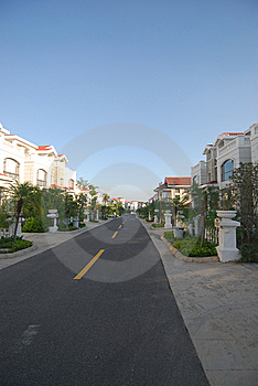 Uptown Villadom Royalty Free Stock Images - Image: 8977989