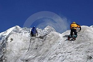 Ice Training Royalty Free Stock Photo - Image: 8978735