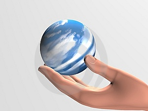 Defenseless Planet Royalty Free Stock Images - Image: 8979049