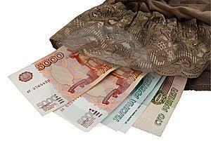 Money Stockinged Stock Images - Image: 8979294