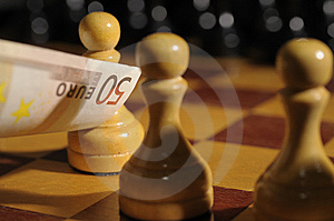 With Money We Will Win Royalty Free Stock Photography - Image: 8981987