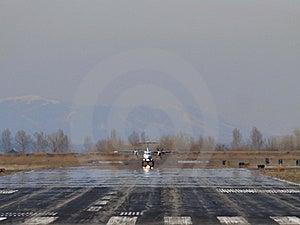 Turboprop Takeoff Royalty Free Stock Photos - Image: 8983168