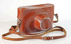 照相机盒皮革老照片 免版税图库摄影 - 图片: 8984607