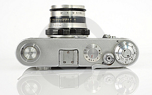 Alte Sucherfotokamera Stockfotos - Bild: 8984933