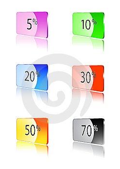 Cartões Do Disconto Foto de Stock - Imagem: 8984980