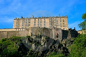 Edinburgh Castle Stock Photo - Image: 8985090