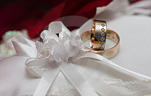 Wedding Rings Stock Photo - Image: 8986200