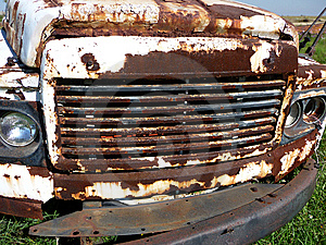Rusty Car Grill Stock Photography - Image: 8986572
