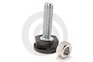Bolts And Nuts Royalty Free Stock Photos - Image: 8986648