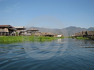 Lakeside Village Royalty Free Stock Images - Image: 8988119