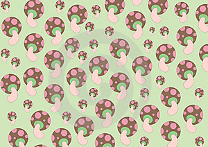 Mushrooms Patterns Stock Photos - Image: 8989703