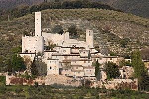 Pissignano, Umbria Royalty Free Stock Image - Image: 8989726