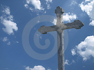 Cross And Sky Royalty Free Stock Images - Image: 8989999