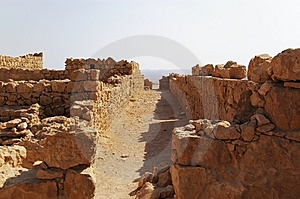 Ruined Walls Royalty Free Stock Image - Image: 8990356