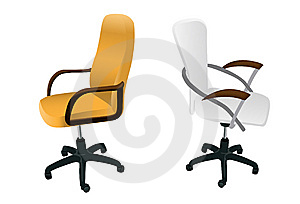 Two Armchairs Stock Images - Image: 8990764