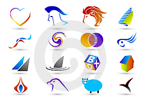 Set Of Abstract Elements For Design-part8 Royalty Free Stock Photos - Image: 8990798