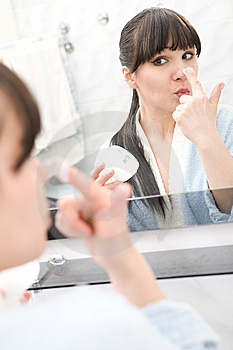 Morning In Bathroom Royalty Free Stock Images - Image: 8992199