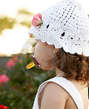 Little Girl With A Nipple Stock Photos - Image: 8992243