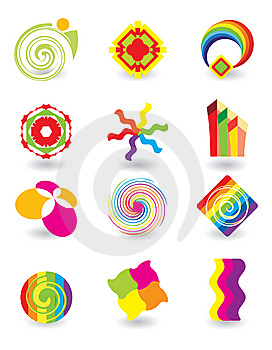 Set Of Abstract Elements Stock Image - Image: 8993081