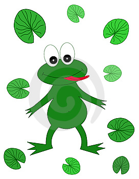Happy Frog Royalty Free Stock Photography - Image: 8993607