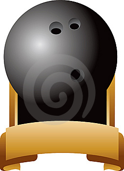 Bowling Ball Trophy Royalty Free Stock Photo - Image: 8993635
