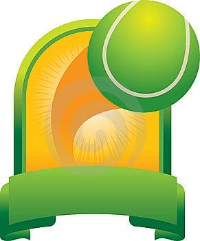 Tennis Ball Trophy Stock Photo - Image: 8993660