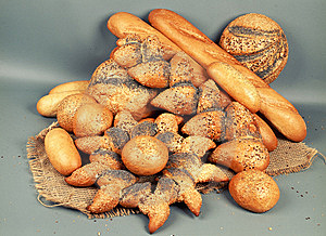 Diferent Loaves Of Bread Stock Image - Image: 8995411