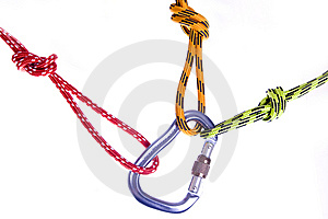Climbing Rope Royalty Free Stock Photography - Image: 8996437