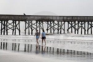 El Caminar En La Playa Fotos de archivo libres de regalías - Imagen: 8997168