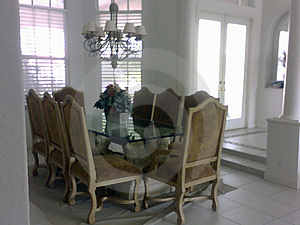 Dining Room Royalty Free Stock Photos - Image: 8999178