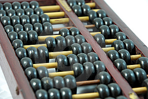 Abacus Stock Photo - Image: 8999350