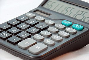 Calculator Royalty Free Stock Photos - Image: 8999388
