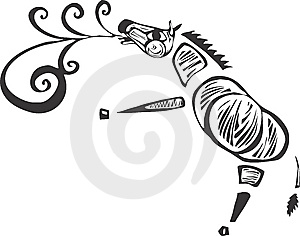 Singing Zebra Stock Photo - Image: 8999580