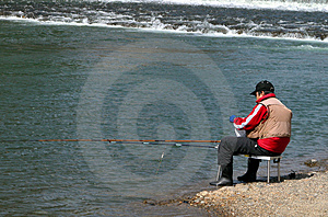 Fisherman Free Stock Photography