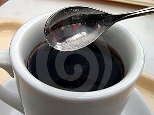 Sweeten Coffee Free Stock Image