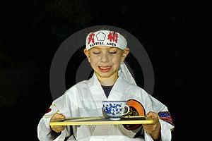 Karate Kid 2 Free Stock Image