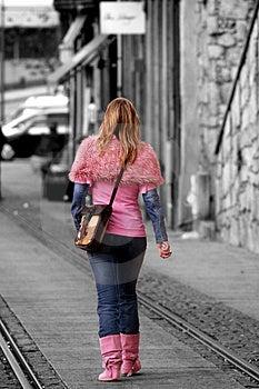 Walking Girl Free Stock Photos