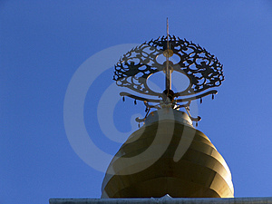 Spire Of Leverett Peace Pagoda Stock Images