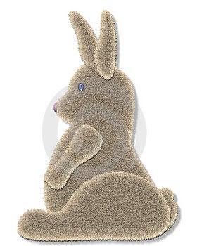 Fuzzy Bunny Stock Photography