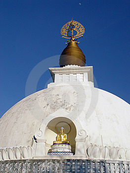 Flèche de pagoda Photo libre de droits