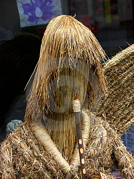 Straw Angel Free Stock Photos