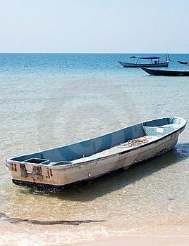 Barge Free Stock Image