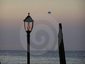 Ibiza sunset Stock Images