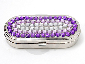 Jeweled Pill Box Stock Photos