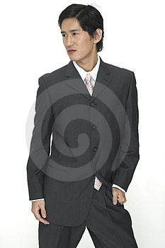 Businessman 3 Stock Image