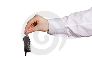 Hand And Key Stock Photos - Image: 9000133
