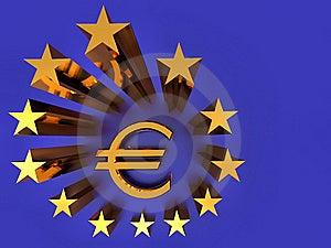 The EU Flag Stock Image - Image: 9000831