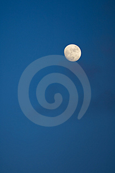 Moon Stock Image - Image: 9001091