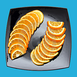 Orange Slices Stock Photography - Image: 9005252