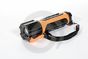 Colorful Flashlight On White Background Royalty Free Stock Image - Image: 9005976